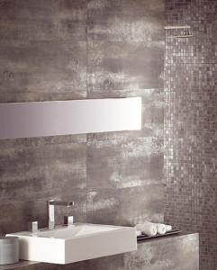metal tiles for the bathroom