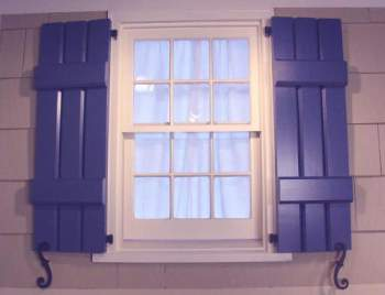 Window Shutters Functional And Aesthetically Pleasing